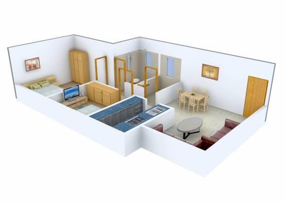 Kamla Aquina (2BHK+2T (1,115 sq ft) Apartment 1115 sq ft)