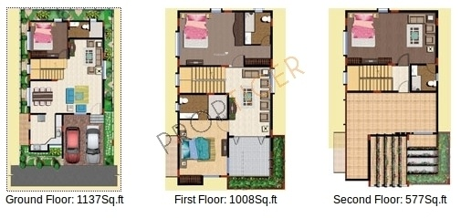 SLS Spencer (4BHK+4T (2,822 sq ft) Villa 2822 sq ft)