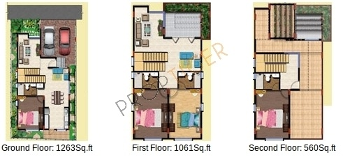 SLS Spencer (4BHK+4T (2,884 sq ft) Villa 2884 sq ft)