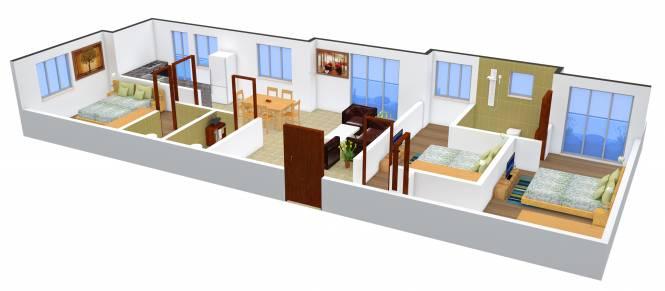 Anand Aster (3BHK+3T (1,731 sq ft) Apartment 1731 sq ft)
