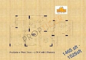 Kolte Patil Surabhi Apartment (3BHK+3T (1,525 sq ft) Apartment 1525 sq ft)