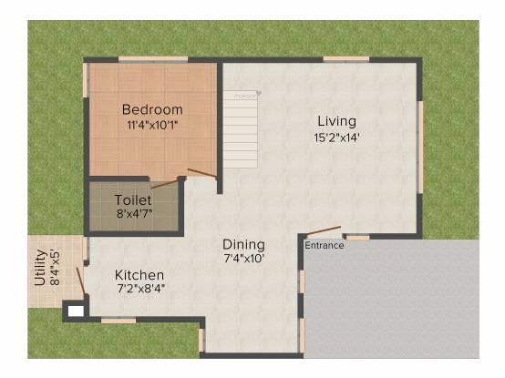 Emmanuel Angels Arch (3BHK+3T (1,705 sq ft) Villa 1705 sq ft)