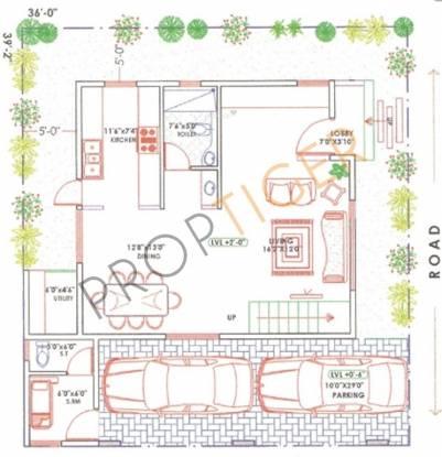 Jatti Dwarakamai (3BHK+3T (2,072 sq ft)   Study Room Villa 2072 sq ft)