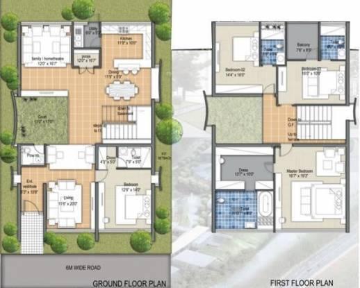 Samskruti Maurya (4BHK+4T (4,487 sq ft)   Pooja Room Villa 4487 sq ft)