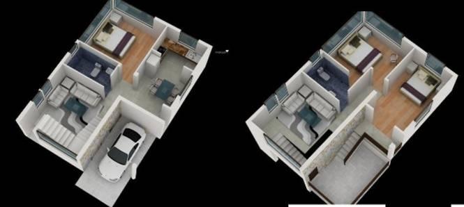 Ria Santi Greens (3BHK+3T (1,638 sq ft) Villa 1638 sq ft)
