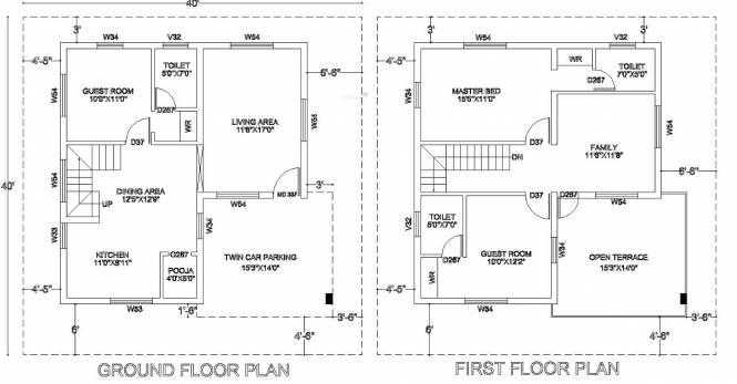 Kristal Jasper (3BHK+3T (1,682 sq ft)   Pooja Room Villa 1682 sq ft)