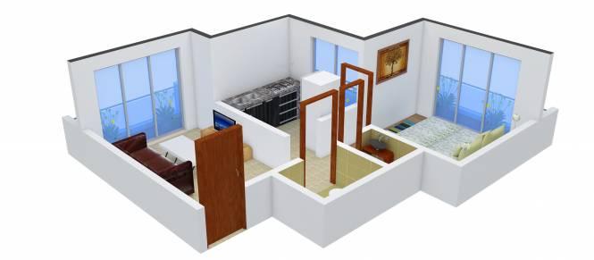 Mango 44 (1BHK+1T (725 sq ft) Apartment 725 sq ft)