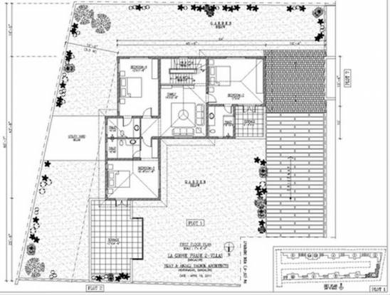 Chaitanya La Grove (4BHK+4T (3,541 sq ft) Villa 3541 sq ft)