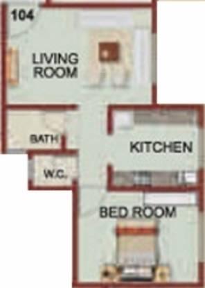 Swastik Durvas (1BHK+1T (600 sq ft) Apartment 600 sq ft)