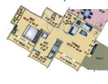 Uma Acropolis Neopolis (2BHK+2T (685 sq ft) Apartment 685 sq ft)