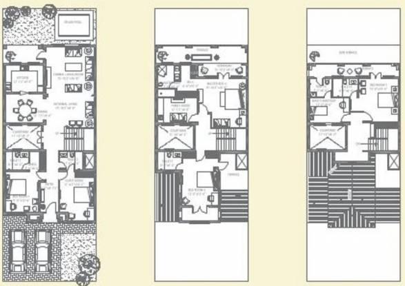 MGF The Vilas (5BHK+5T (3,500 sq ft) + Servant Room Villa 3500 sq ft)