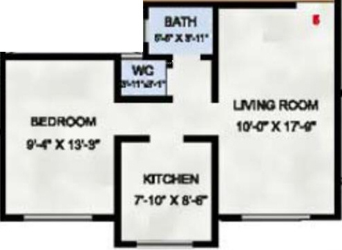 Radhey Heritage (1BHK+1T (655 sq ft) Apartment 655 sq ft)