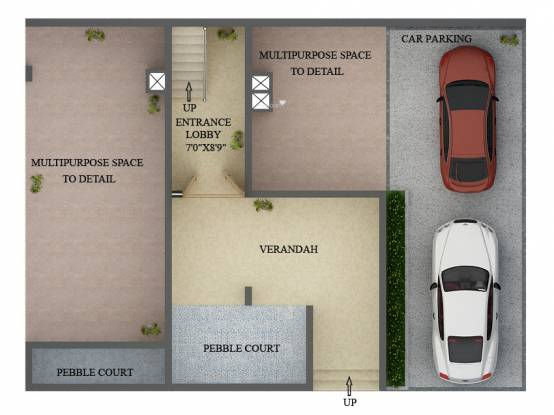 The Address The Gran Carmen Address (4BHK+5T (5,000 sq ft) + Pooja Room Villa 5000 sq ft)