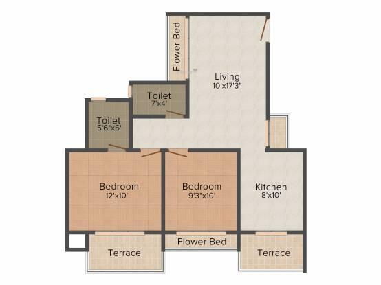 Swastik Bhima (2BHK+2T (1,140 sq ft) Apartment 1140 sq ft)