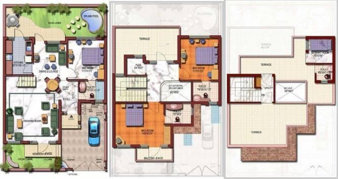 Today Homes Today Villas (3BHK+4T (2,475 sq ft) + Servant Room Villa 2475 sq ft)
