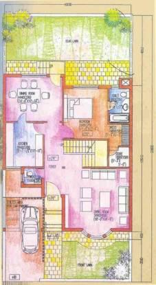 Ansal Oriental Villa (3BHK+3T (2,072 sq ft) + Pooja Room Villa 2072 sq ft)