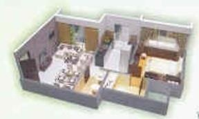 Dutt Garden Avenue (1BHK+1T (635 sq ft) Apartment 635 sq ft)