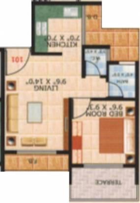 Nms Moreshwar Darshan (1BHK+1T (675 sq ft) Apartment 675 sq ft)
