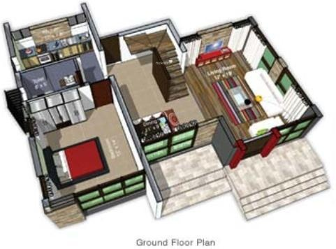Disha Reso Villa (3BHK+3T (2,064 sq ft) Villa 2064 sq ft)