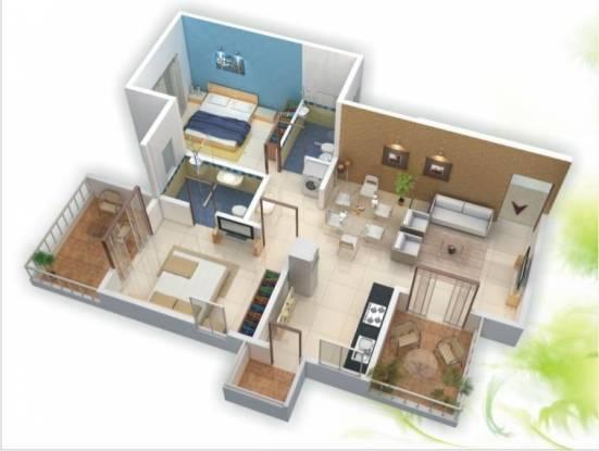 Kakkad Madhuban (2BHK+2T (984 sq ft) Apartment 984 sq ft)