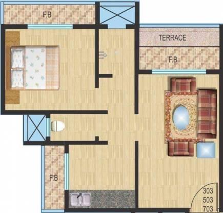 MK Krishnapingaksha (1BHK+1T (655 sq ft) Apartment 655 sq ft)