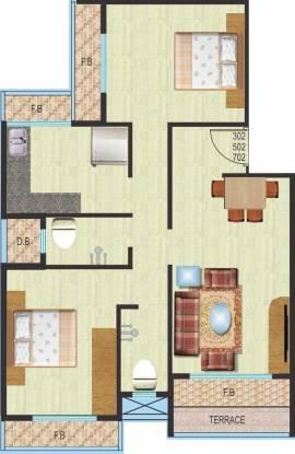 MK Krishnapingaksha (2BHK+2T (1,165 sq ft) Apartment 1165 sq ft)