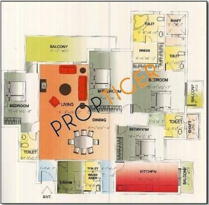 DLF Royalton Towers DLF Royalton Towers (4BHK+4T + Servant Room)
