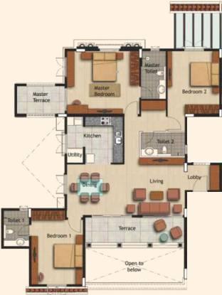 Atul Westernhills (3BHK+3T (1,827 sq ft) Apartment 1827 sq ft)