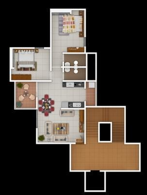 Shiv Vihar (2BHK+2T (850 sq ft) Apartment 850 sq ft)