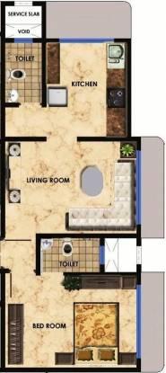 Maitree Avalon Paradise (1BHK+1T (700 sq ft) Apartment 700 sq ft)