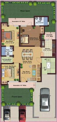 M2K Spring Floors (3BHK+2T (1,600 sq ft) Apartment 1600 sq ft)