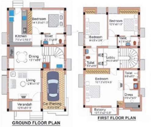 Newry Properties Newry Villas Newry Properties Newry Villas (4BHK+4T)