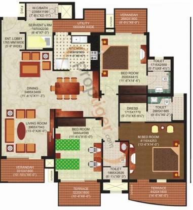 Mahindra Lifespaces Chloris Mahindra Lifespaces Chloris (3BHK+3T)