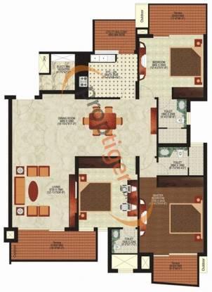 Mahindra Lifespaces Chloris Mahindra Lifespaces Chloris (3BHK+3T + Servant Room)