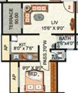 Rai Residency Baliram Enclave Rai Residency Baliram Enclave (1BHK+1T)