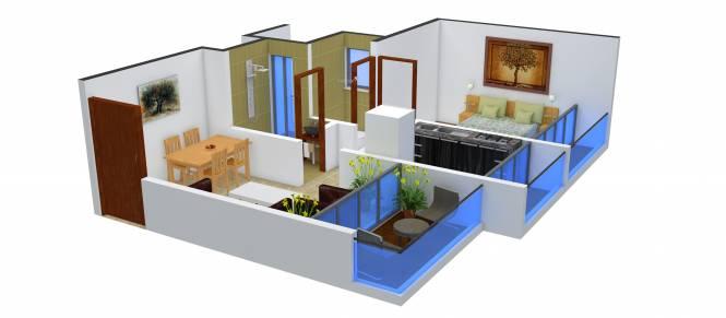 Adinath Arpan (1BHK+1T (650 sq ft) Apartment 650 sq ft)