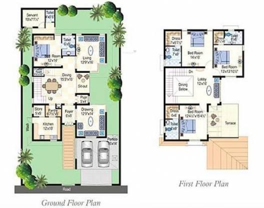 Lumbini SLN Springs (4BHK+6T (3,277 sq ft) + Servant Room Villa 3277 sq ft)