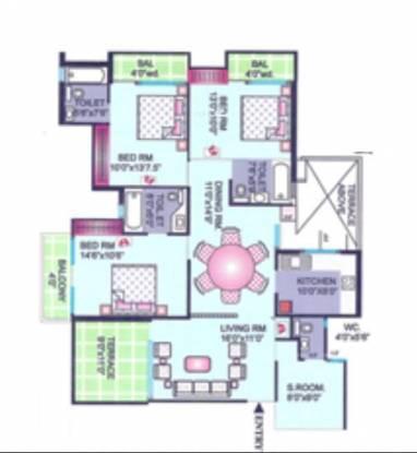 CGHS Pragya Apartment (3BHK+3T (1,639 sq ft) Apartment 1639 sq ft)
