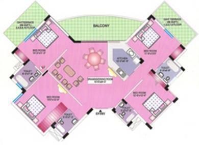 CGHS Batukji Apartment (4BHK+4T (2,105 sq ft) Apartment 2105 sq ft)
