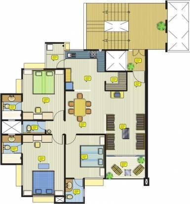 Safal Parivesh (3BHK+3T (2,010 sq ft) Apartment 2010 sq ft)
