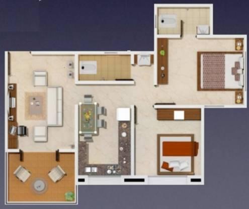 Arun Celesta Neo (2BHK+2T (865 sq ft) Apartment 865 sq ft)