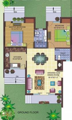 Cosmos Jasmine Residency (2BHK+2T (1,150 sq ft) Apartment 1150 sq ft)