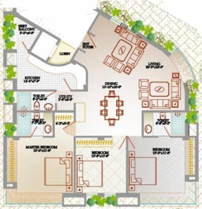 Orbit Anveshan (3BHK+3T (1,850 sq ft) Apartment 1850 sq ft)