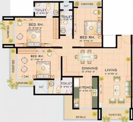 Sabari Basera (3BHK+3T (1,650 sq ft) Apartment 1650 sq ft)