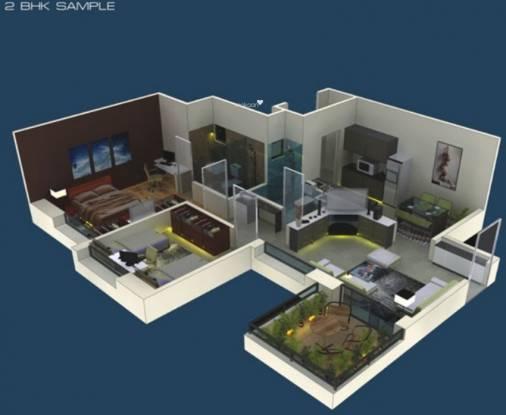 Ratan Housing Prestige (2BHK+2T (1,073 sq ft) Apartment 1073 sq ft)