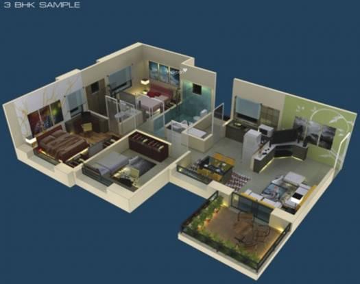 Ratan Housing Prestige (3BHK+3T (1,174 sq ft) Apartment 1174 sq ft)