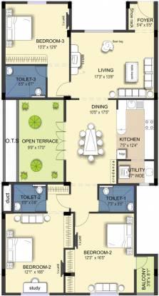 Ramaniyam Kattima (3BHK+3T (2,248 sq ft) Apartment 2248 sq ft)