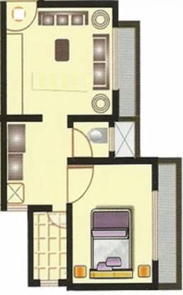 Raj Shree Nirman Krishna Horizon (1BHK+1T (560 sq ft) Apartment 560 sq ft)
