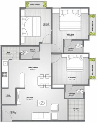 PSY Pramukh Lotus (3BHK+3T (1,647 sq ft) Apartment 1647 sq ft)