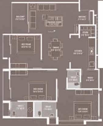 Devnandan Infinity (3BHK+3T (1,669 sq ft) Apartment 1669 sq ft)